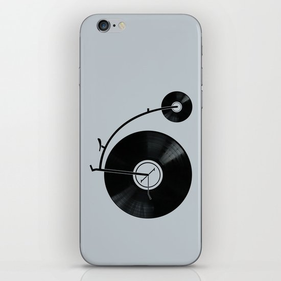 Ride Your Music! iPhone & iPod Skin