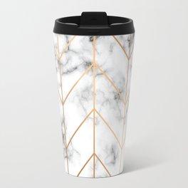 Marble Geometry 057 Travel Mug