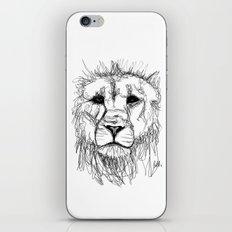 Gesture Lion iPhone & iPod Skin
