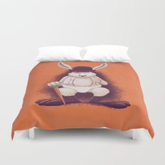 A Clocwork Carrot Duvet Cover