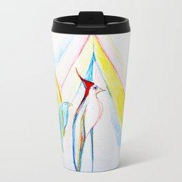 Three Birds Metal Travel Mug