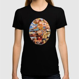 Glitch Pin-Up Redux: Zelda & Zoe T-shirt