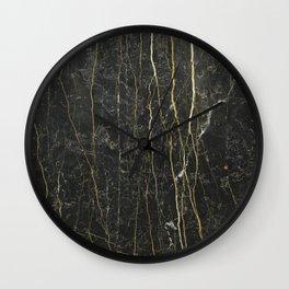 Black Onyx Wall Clock