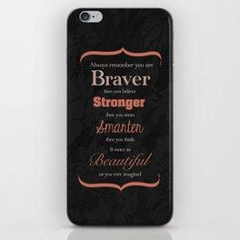 Braver iPhone Skin