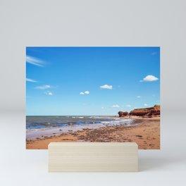 Twin Shores Beach on Prince Edward Island Mini Art Print
