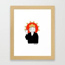Queens Series: Betty! Framed Art Print