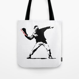 Jordan BRED 11 Thrower Tote Bag