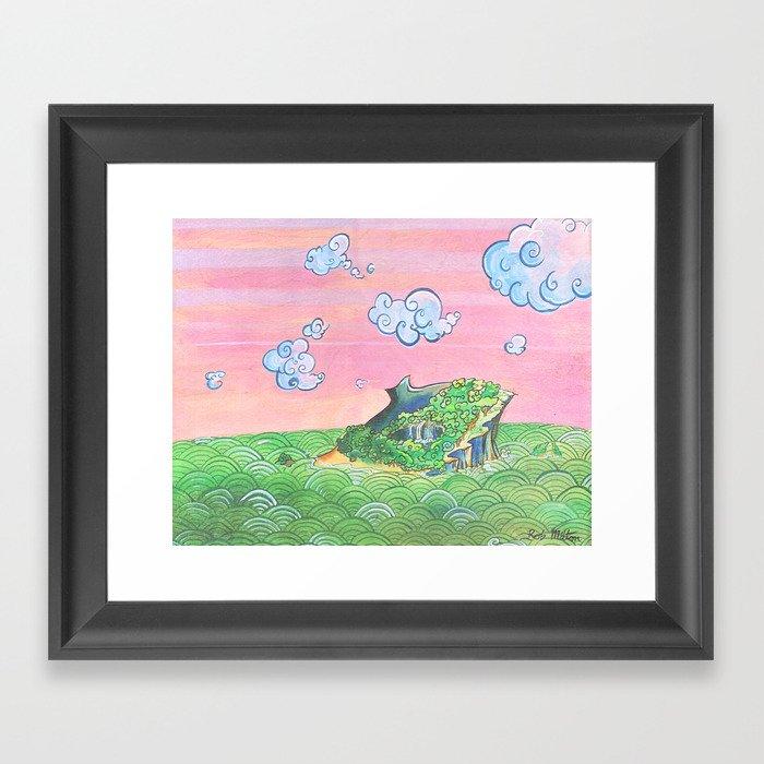 Jeju Island Framed Art Print