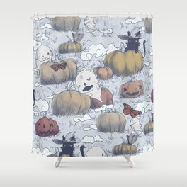 The Return in Fall Shower Curtain