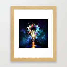 Kingdom Hearts - Combined Keyblade Framed Art Print