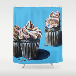 Cupcakes Shower Curtain