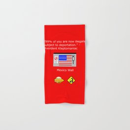 99% of Americans Hand & Bath Towel