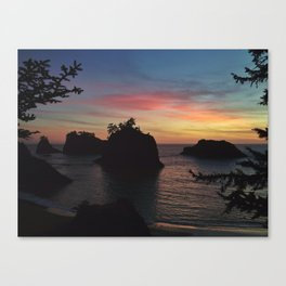 Samuel H Boardman Sunset Canvas Print