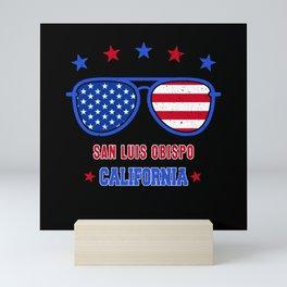 San Luis Obispo California Mini Art Print