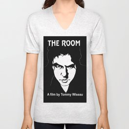 The Room- Tommy Wiseau Unisex V-Neck