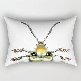 Beetles #2 (Sagra Femorata) Rectangular Pillow