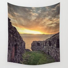 Castle on the Hill Wall Tapestry