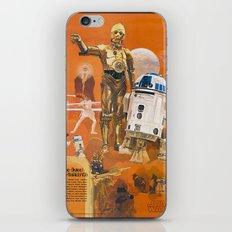 Star R2-D2 C-3PO Wars iPhone Skin