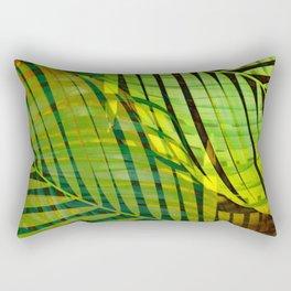 TROPICAL GREENERY LEAVES no1 Rectangular Pillow