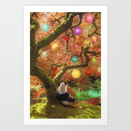 Best Friends Forever Art Print