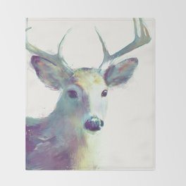 Whitetail No. 2 Throw Blanket