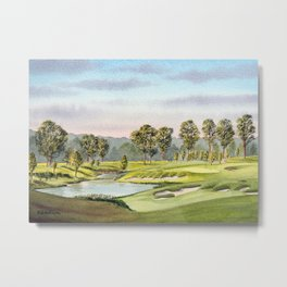 Fallen Oak Golf Course Mississippi Metal Print