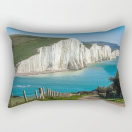costline, England Rectangular Pillow