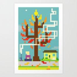 Fall Contemplation Art Print