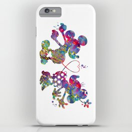 Mickey Loves Minnie iPhone Case