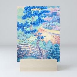Blue Pine Mini Art Print