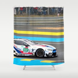 GTE German Sports Car Le Mans 2019 Shower Curtain