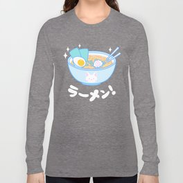 Cute Ramen Long Sleeve T-shirt