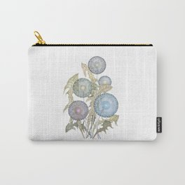 Dandelions watercolor painting Carry-All Pouch