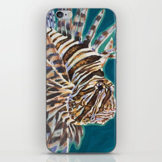 Red Lionfish iPhone & iPod Skin