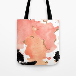 Calm Coral Daydreaming Tote Bag