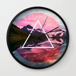 Wanderlust Lake Wall Clock