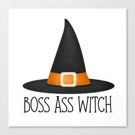 Boss Ass Witch Canvas Print