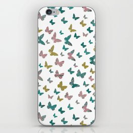 butterflies_pink iPhone Skin