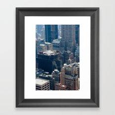 New York City - Manhattan #2 Framed Art Print