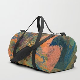 Floral abstract 43 Duffle Bag