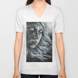 Blues in Space Unisex V-Neck