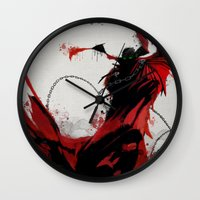 spawn Wall Clocks featuring Spawn by Scofield Designs