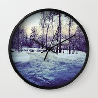 neverland Wall Clocks featuring Neverland by Out of Line