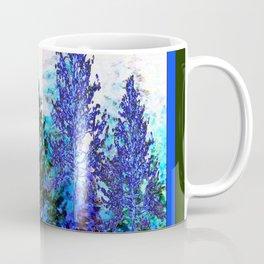 BLUE-GREEN MOUNTAIN FOREST LANDSCAPE Coffee Mug