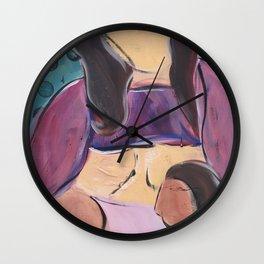 Tandem Nursing Wall Clock