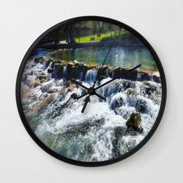 Giant Springs Wall Clock