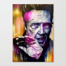 Mister Walken Canvas Print