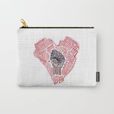 Untitled (Heart Fist) Carry-All Pouch