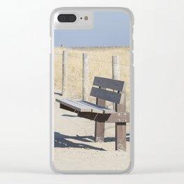 Beach Trail Clear iPhone Case