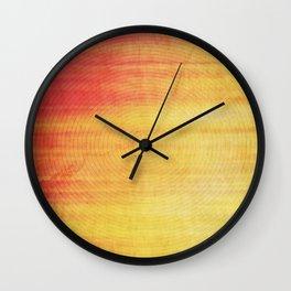 Color Burst - Sunset Ring Wall Clock